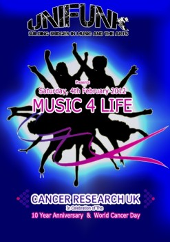 MUSIC 4 LIFE A CELEBRATION OF CANCER RESEARCH 10 YEAR ANNIVERSARY