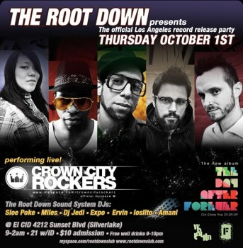 Crown City Rockers @ The Root Down