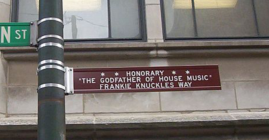 Frankie Knuckles Chicago street