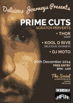DJ Prime Cuts @ Delicious Journeys