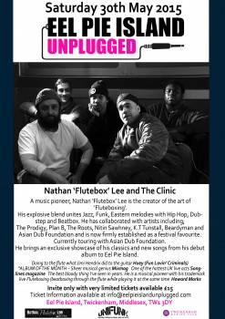 Nathan 'Flutebox' Lee and The Clinic Eel Pie Island Unplugged